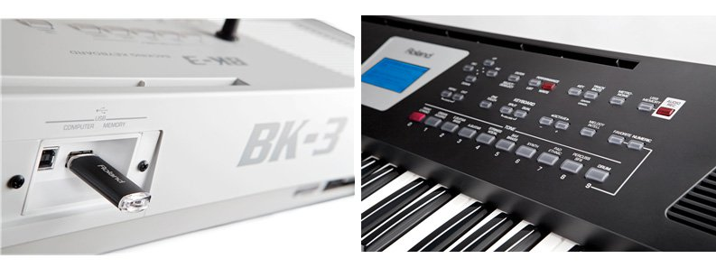 keyboard roland bk3 gia re